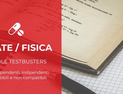 Pillole Testbusters – Matematica: eventi dipendenti, indipendenti, compatibili e non compatibili