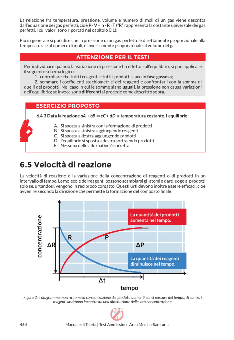 Chimica - velocità di reazione